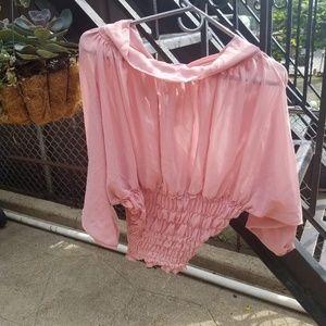 Very classy blouse Pink medium